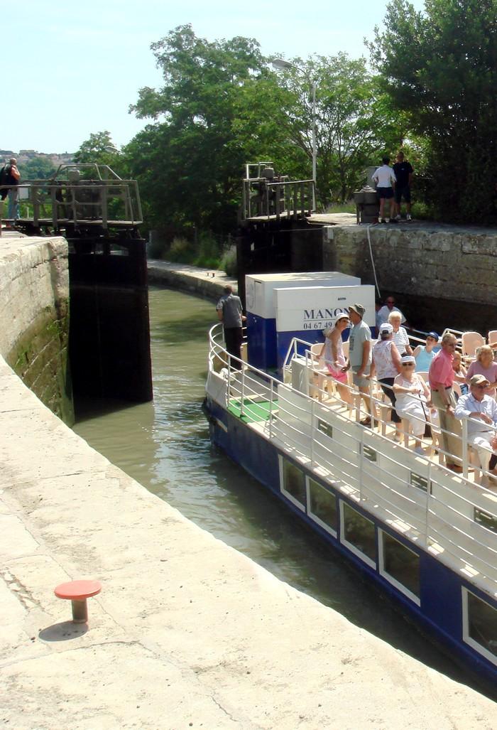 Ecluses de Fonséranes, Canal du Midi - Hérault, le Languedoc © Photothèque Hérault Tourisme - Julie Noclercq